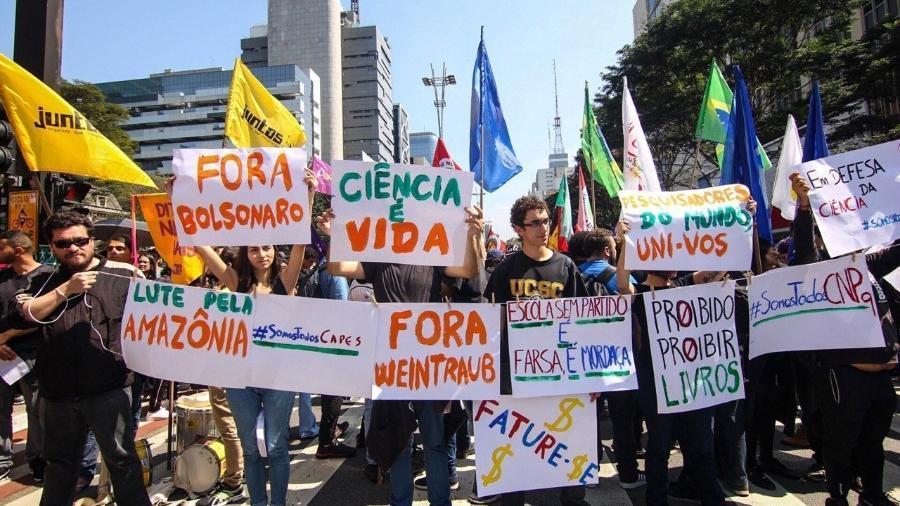 Manifestações Fora Bolsonaro