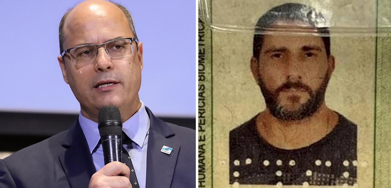 Wilson Witzel e Adriano Magalhães da Nóbrega