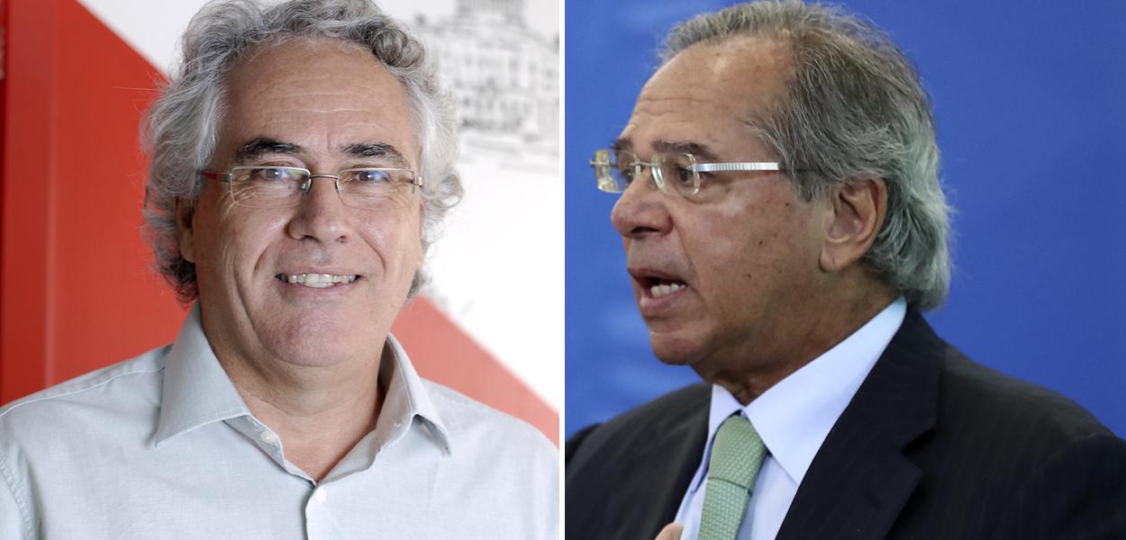 Sérgio Mendonça e Paulo Guedes