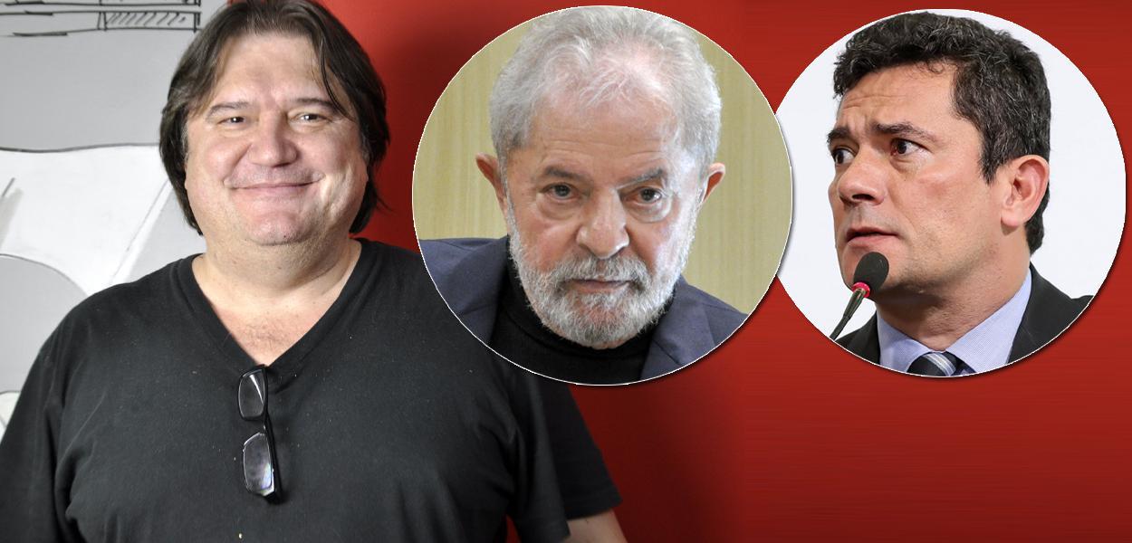 Pedro Serrano, Lula e Sergio Moro