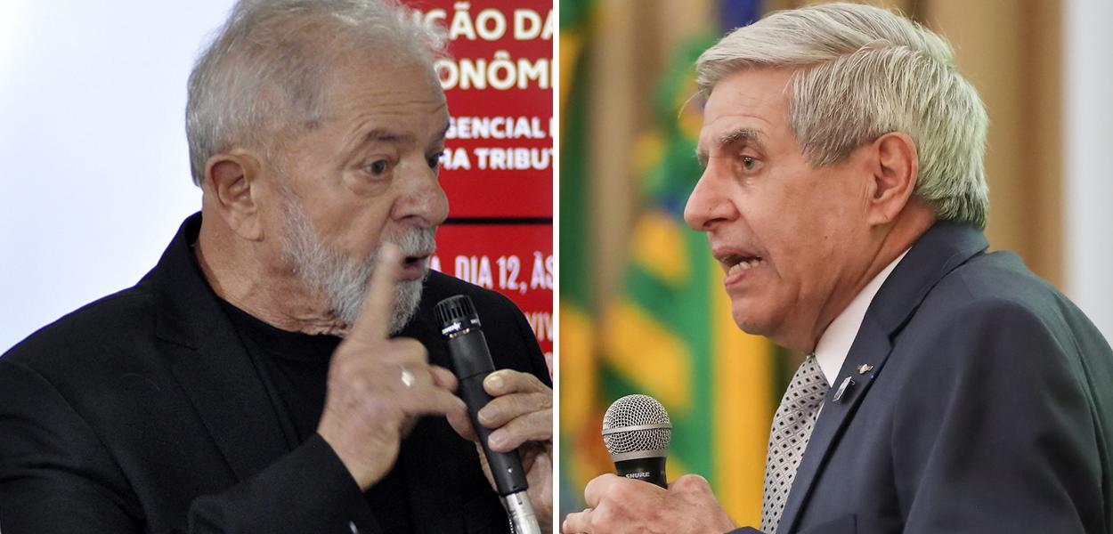 Lula e General Augusto Heleno