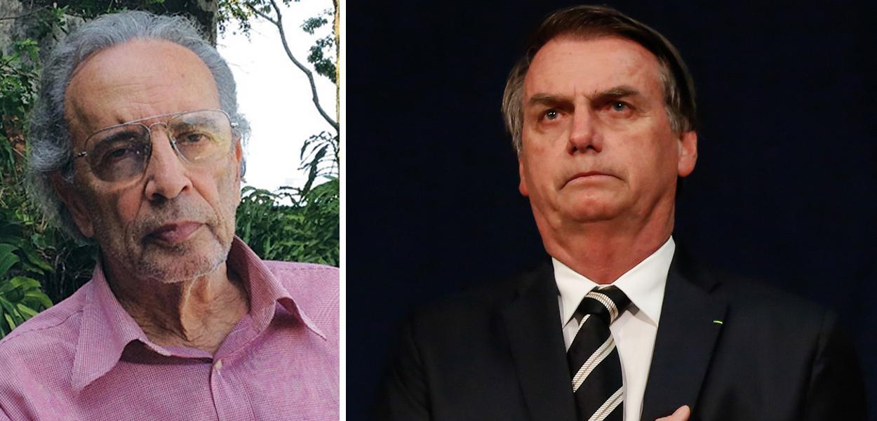 Janio de Freitas e Jair Bolsonaro