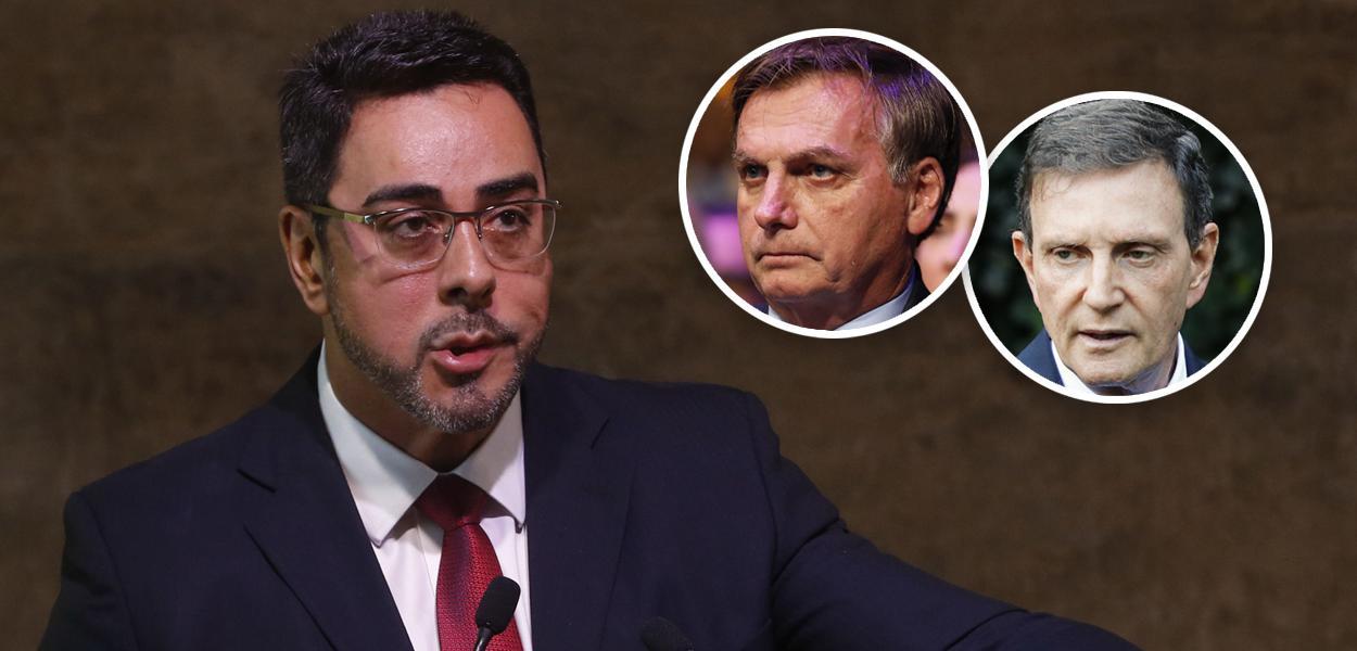 Marcelo Bretas, Jair Bolsonaro e Marcelo Crivella