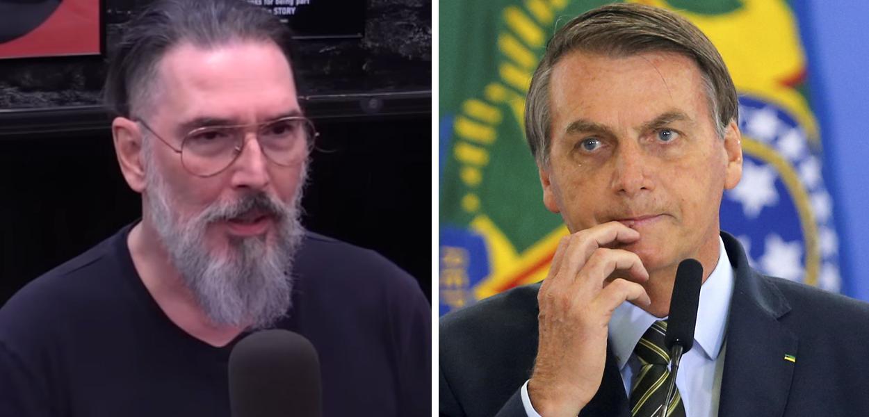 Lobão e Jair Bolsonaro