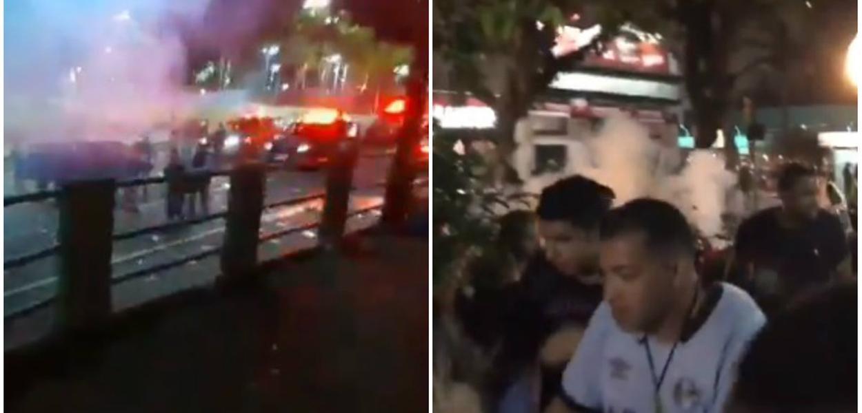 Полиция кончает вечеринки в Порту-Алегри и Кампу-Гранди