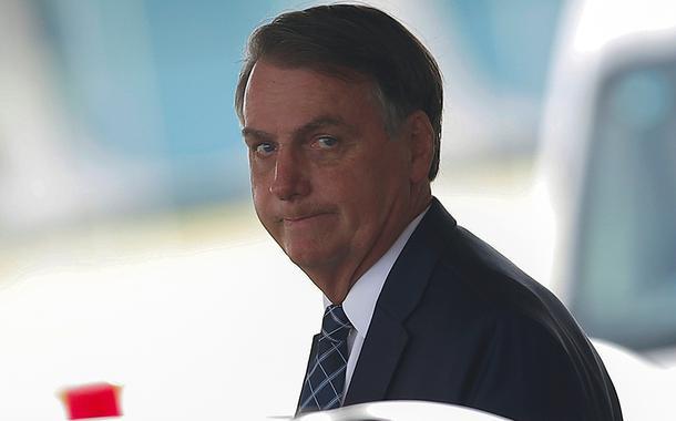 Jair Bolsonaro deixa Palácio da Alvorada