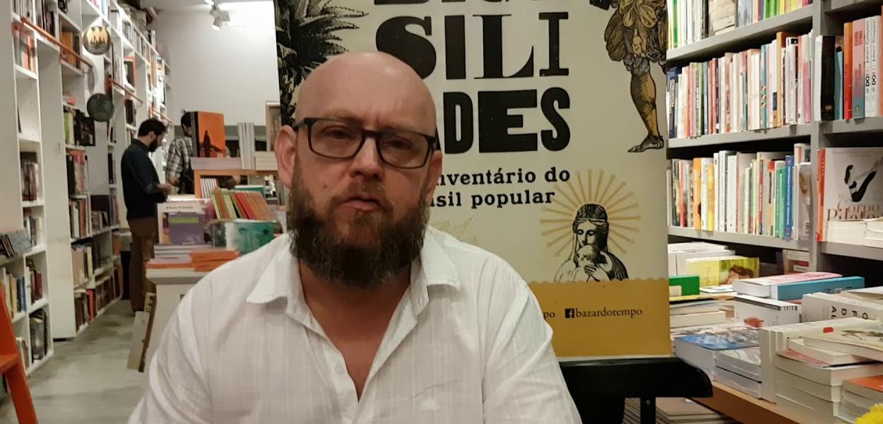 Luiz Antonio Simas, historiador, escritor e professor