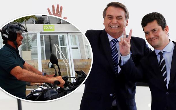 20200225090228 51b8ee2a d54d 4676 8cd0 1b6ec0e81d29 - Bolsonaro posa em frente ao triplex do Guarujá, usado para condenar Lula