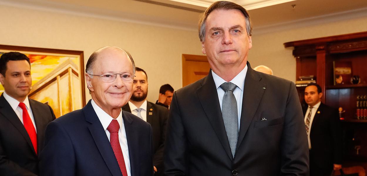 Edir Macedo e Jair Bolsonaro