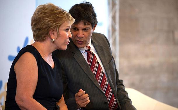 Marta Suplicy e Fernando Haddad