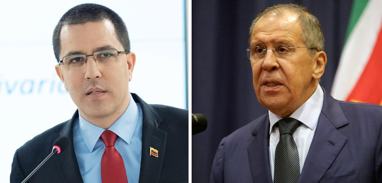 Jorge Arreaza e Sergei Lavrov