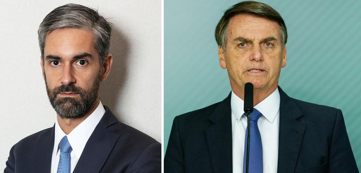 Augusto de Arruda Botelho e Jair Bolsonaro