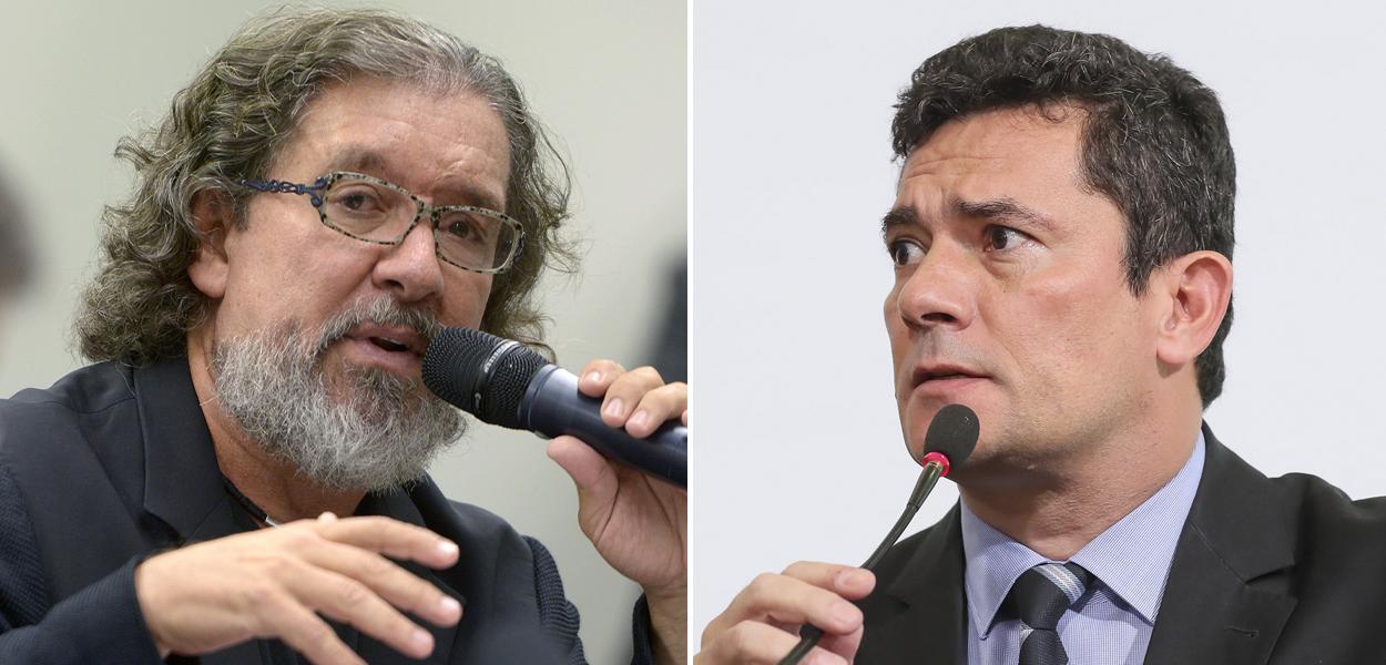 Kakay e Sérgio Moro