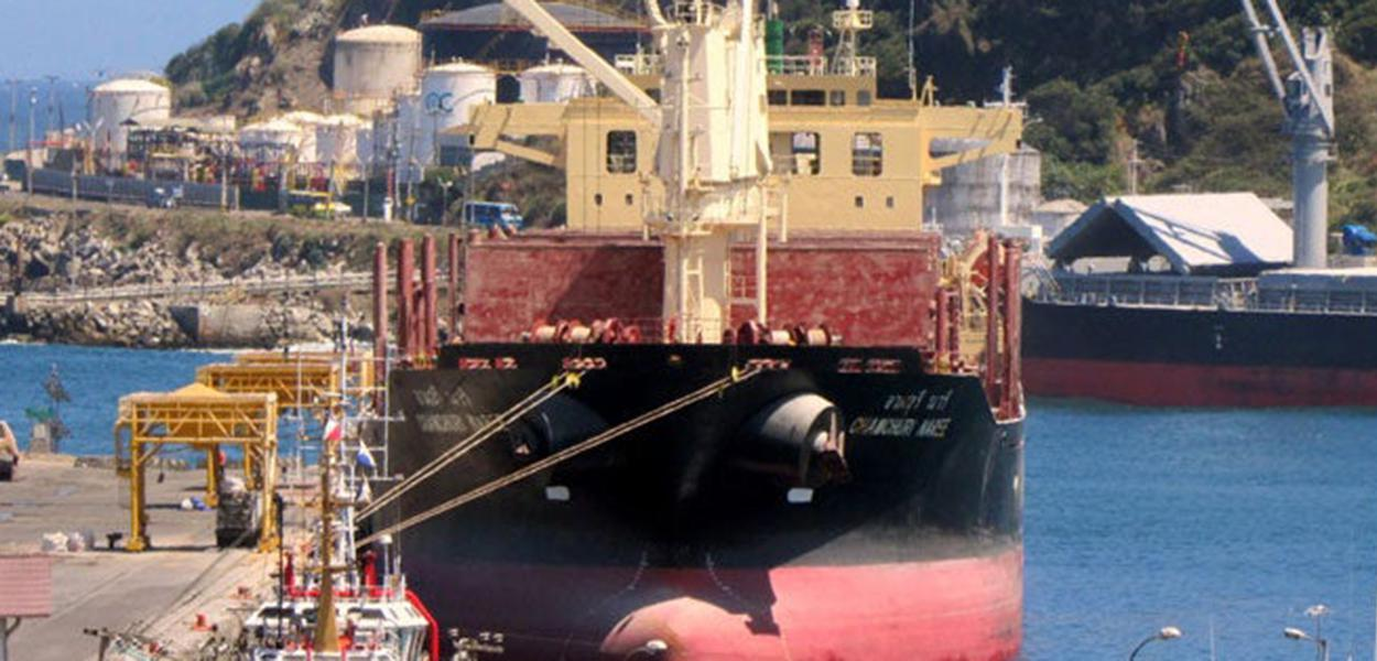Morre tripulante de navio com bandeira tailandesa no Pará
