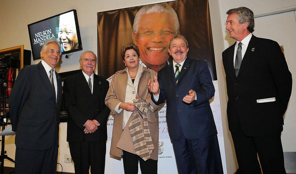 FHC, Sarney, Dilma, Lula e Collor