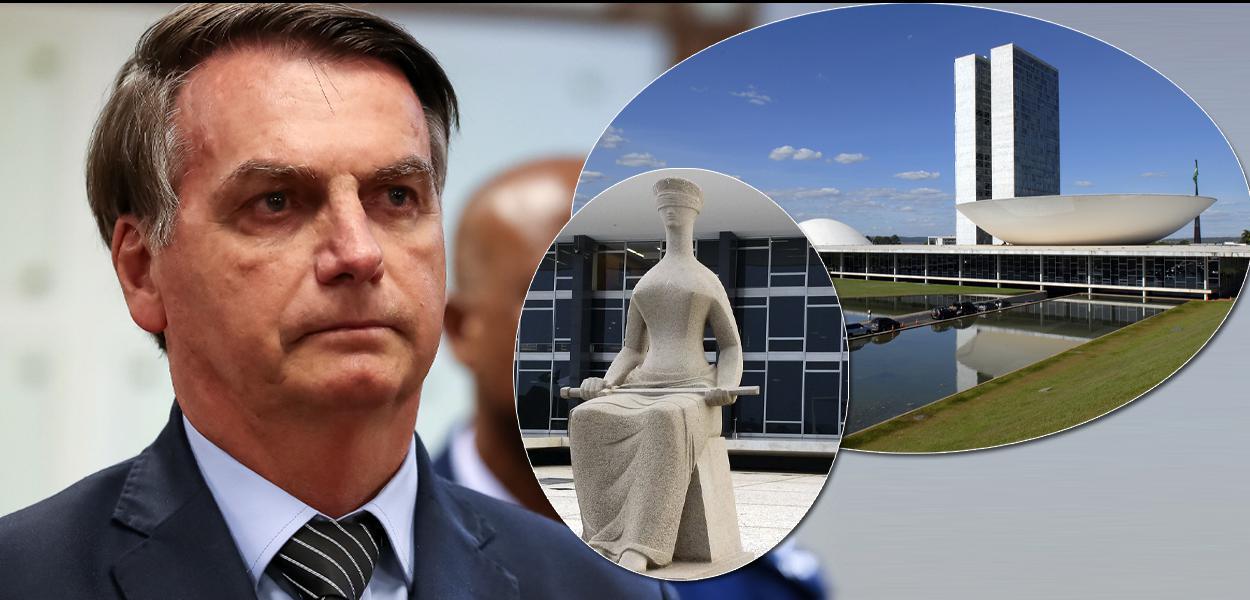 Congresso e o STF podem deter  Bolsonaro.