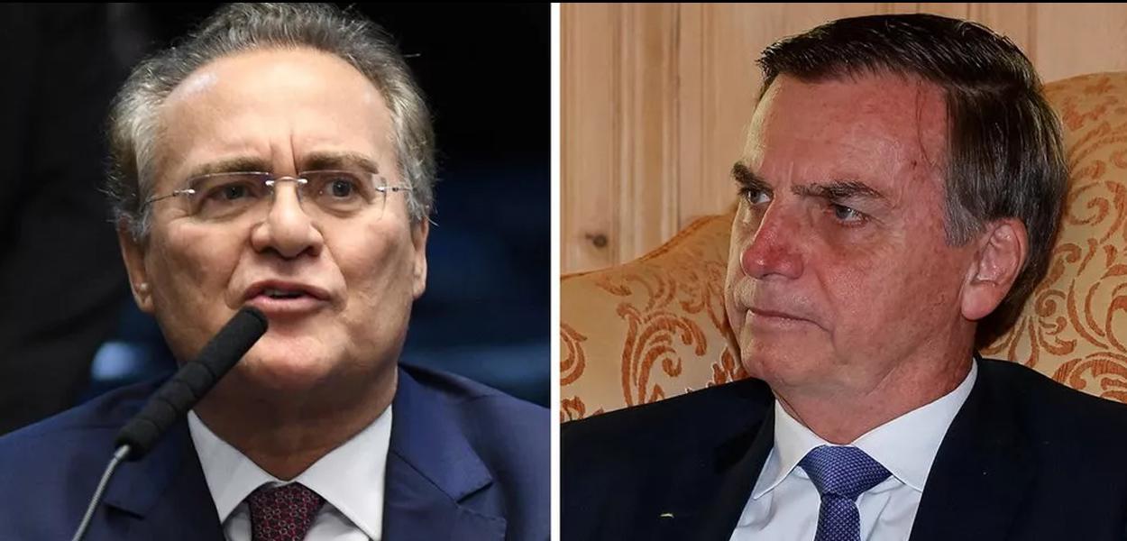 Renan Calheiros afirmou em seu Twitter que Bolsonaro é um monstro.