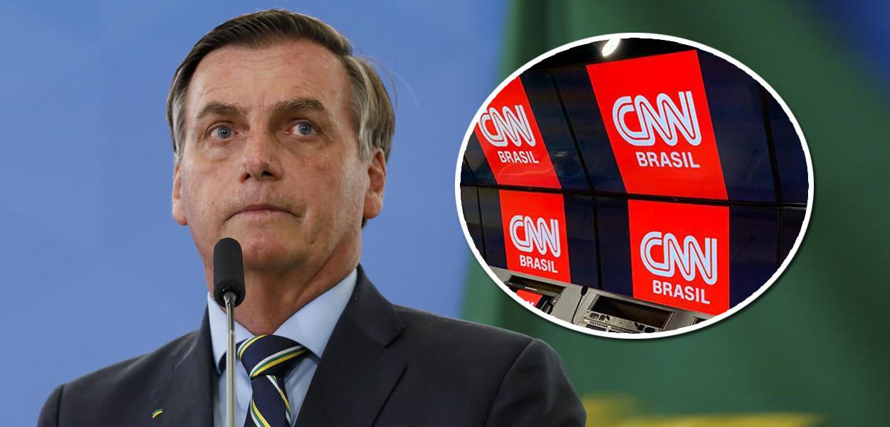 Com elogio, Bolsonaro mata a credibilidade da CNN Brasil antes ...