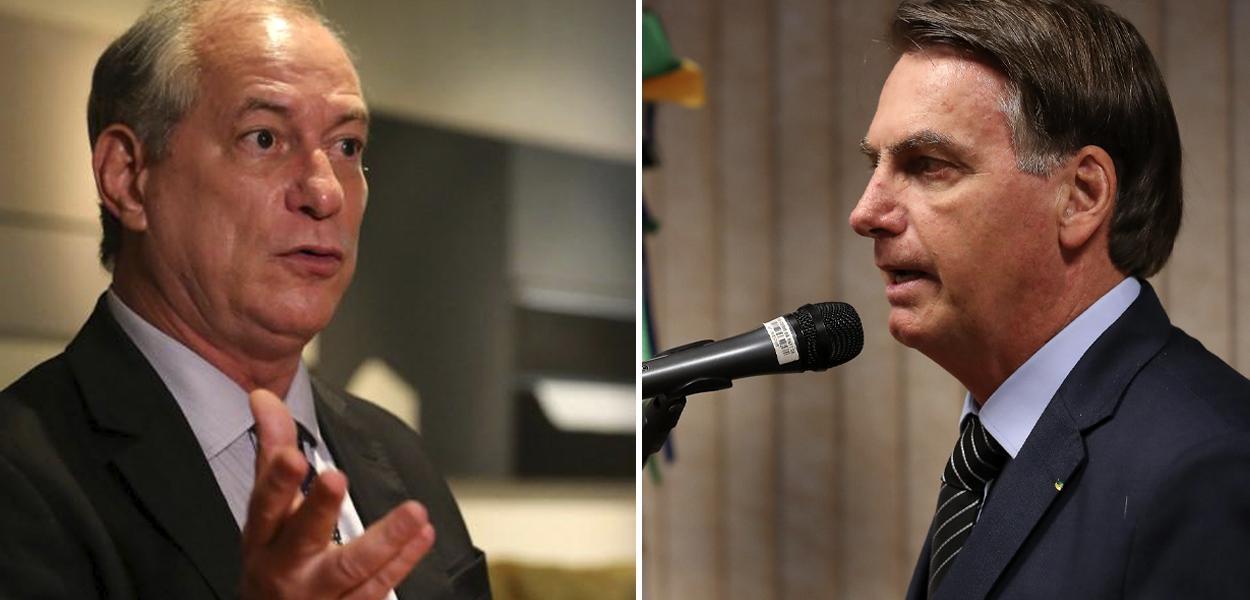 Ciro Gomes e Jair Bolsonaro