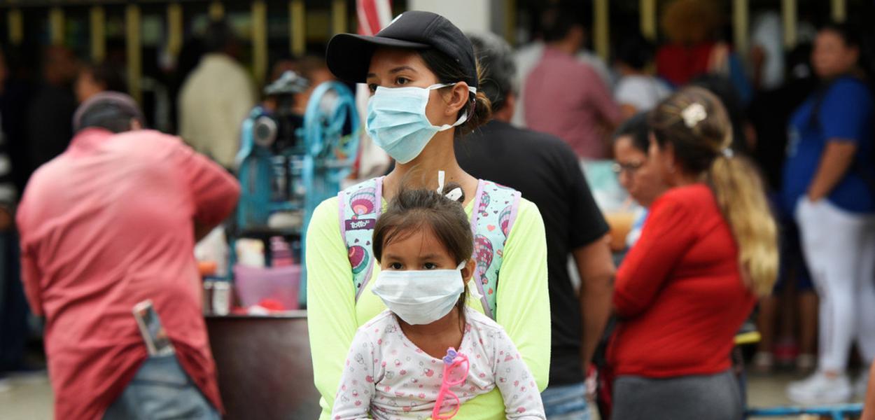Equador registra cinco novos casos de coronavírus