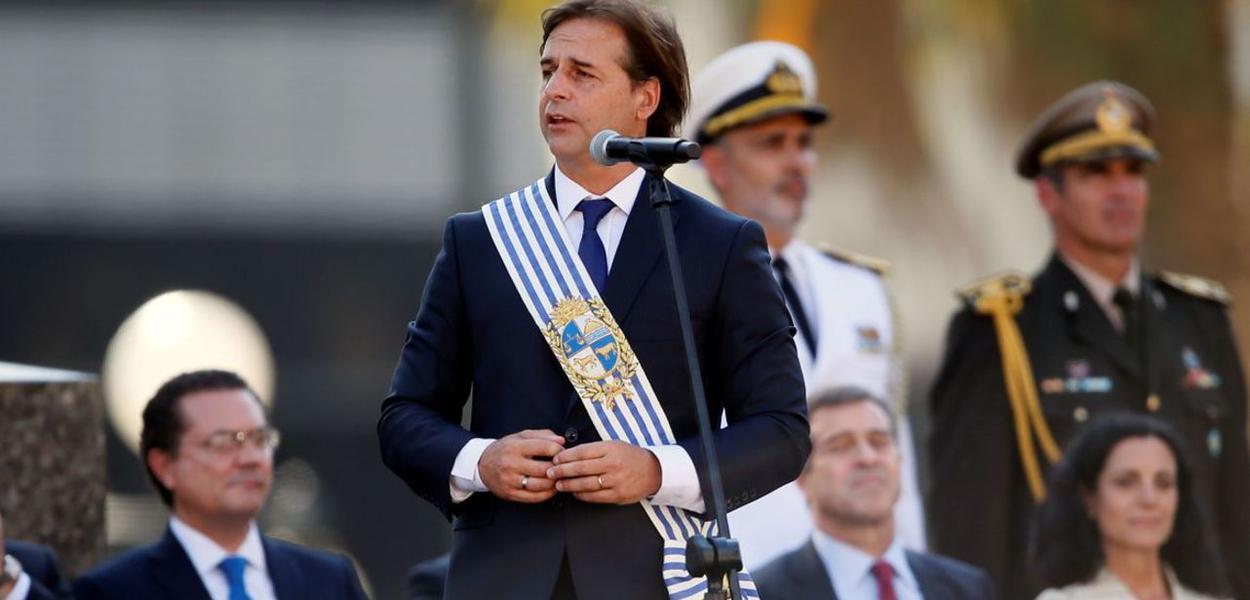 Luis Lacalle Pou, novo presidente do Uruguai