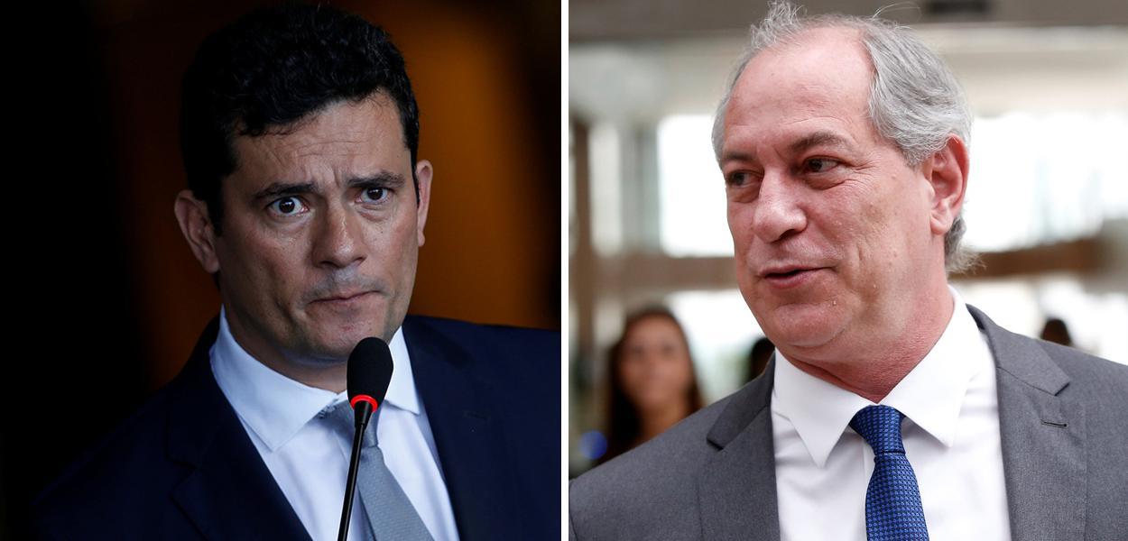 Sérgio Moro e Ciro Gomes