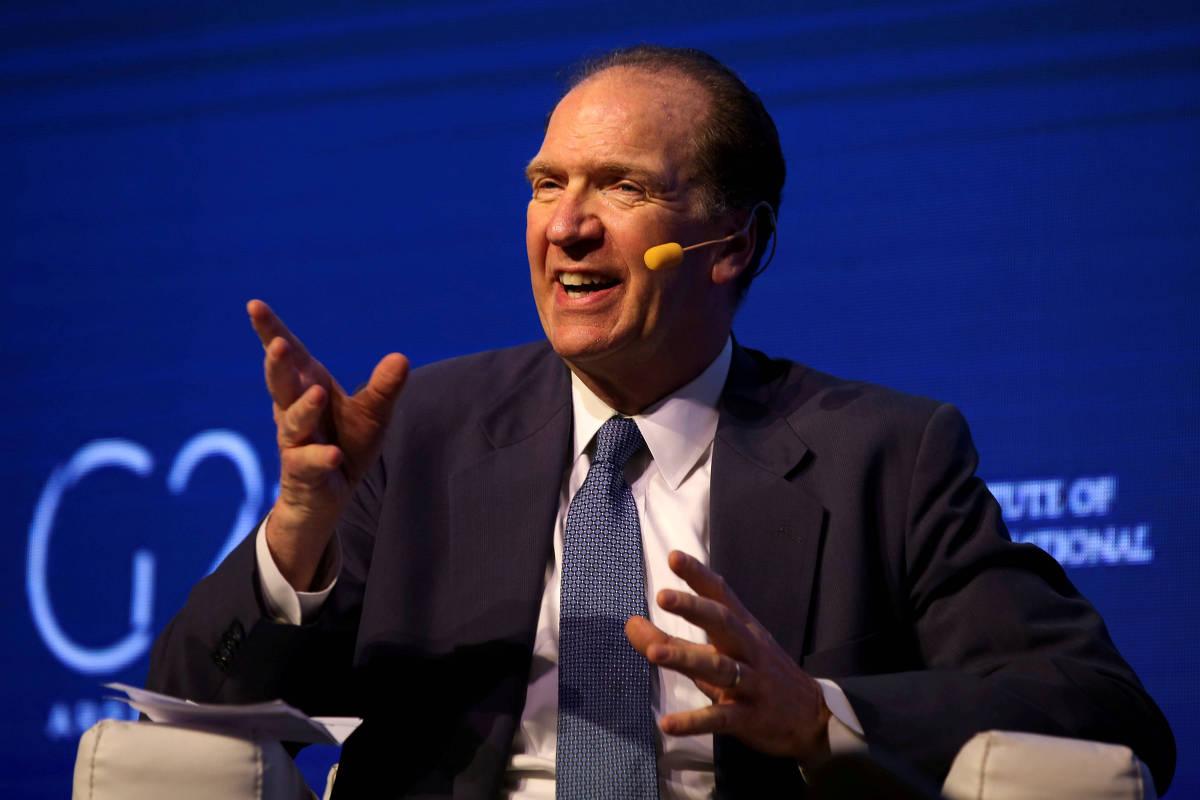 David Malpass do Banco Mundial