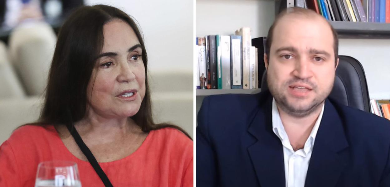 Regina Duarte e Dante Mantovani
