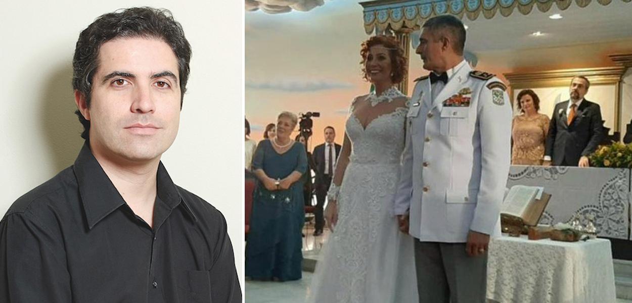 Bernardo Mello Franco; Carla Zambelli e coronel Aginaldo de Oliveira