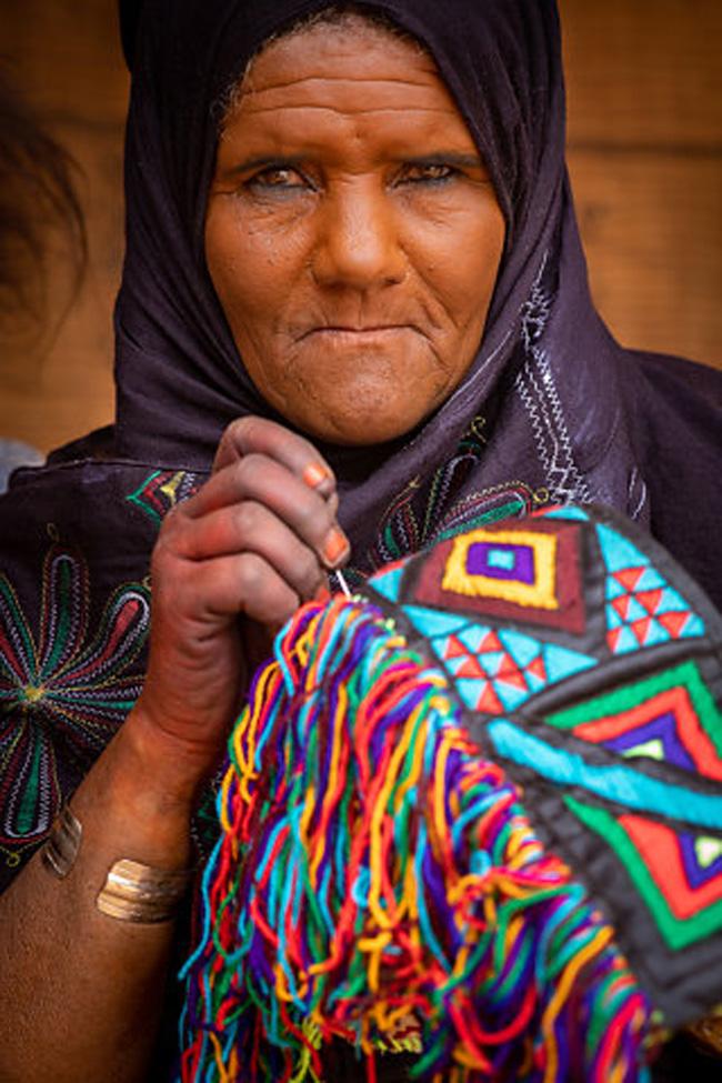 Mulheres tuaregues não usam véu