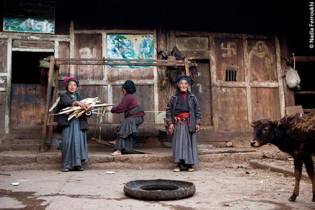 Mulheres moso, na China