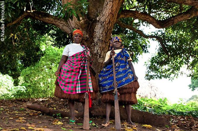 """Moças """"defunto"""", da Guiné Bissau"""