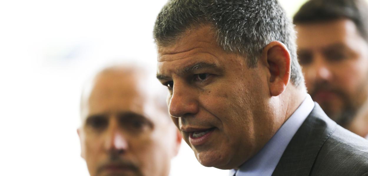 Gustavo Bebianno (PSL), ex-presidente do PSL durante a campanha eleitoral de Jair Bolsonaro