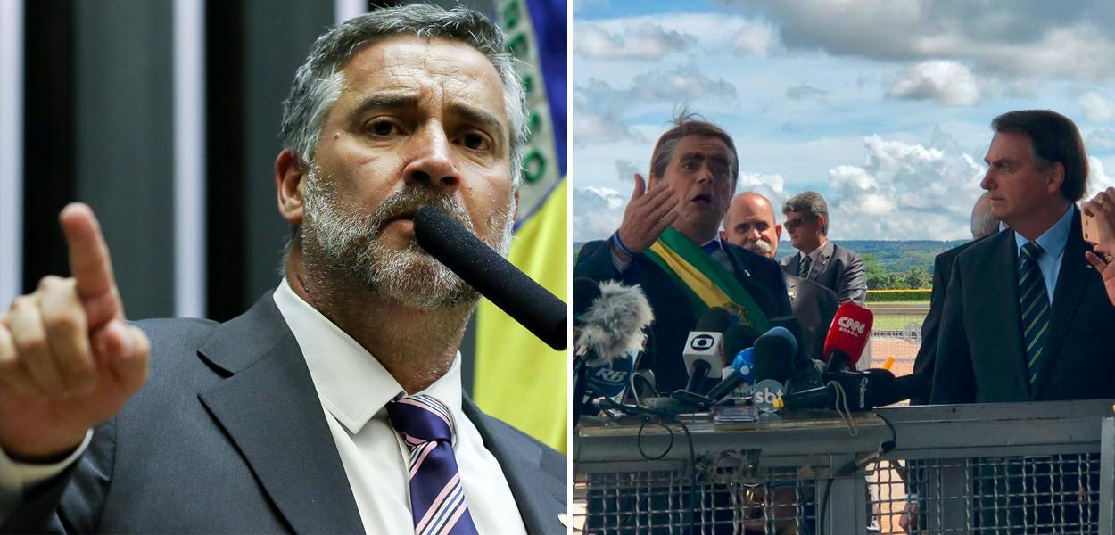 Paulo Pimenta critica gesto de Bolsonaro com jornalistas