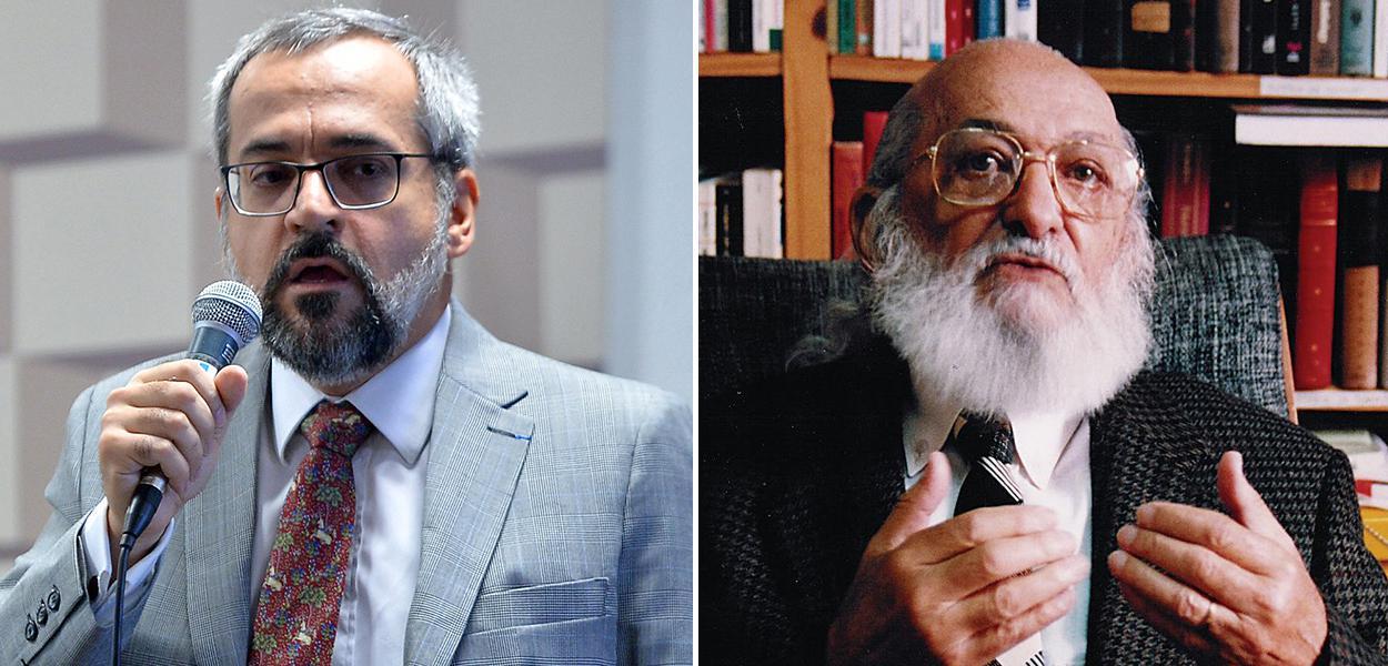 Abraham Weintraub e Paulo Freire