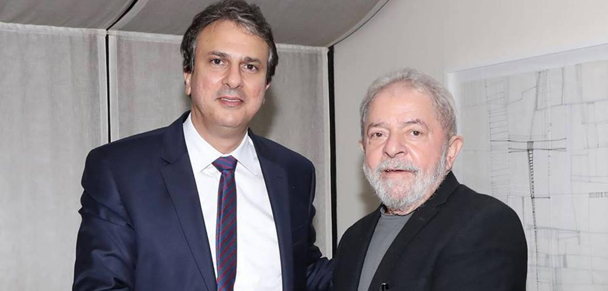 Camilo Santana e Lula