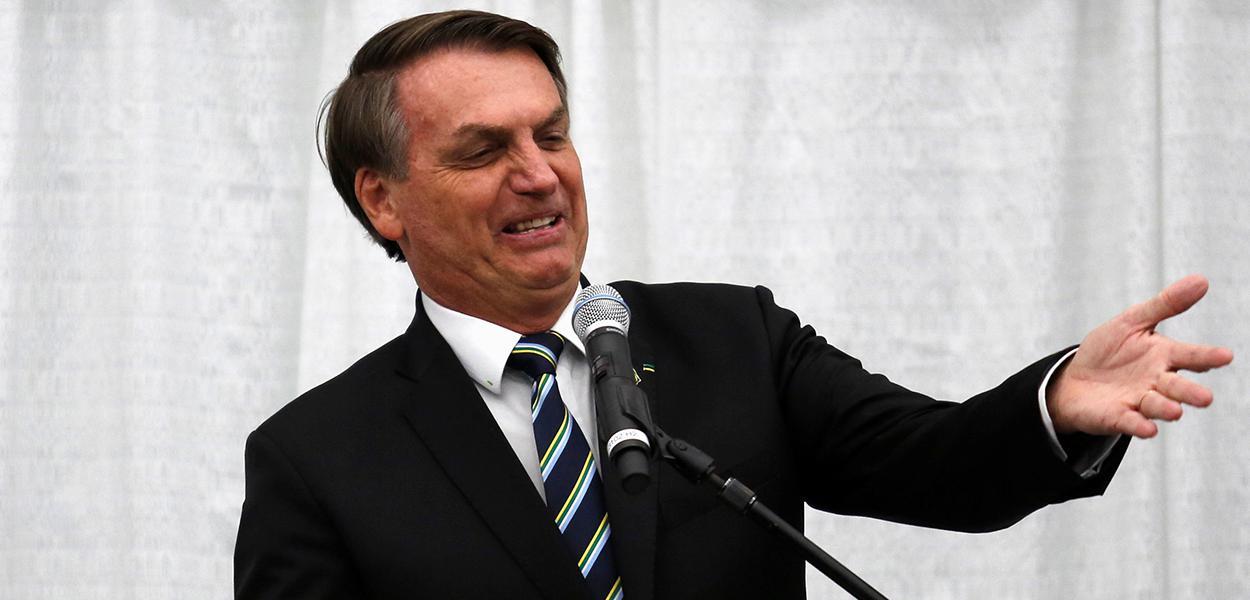 Bolsonaro discursa a brasileiros em encontro organizado em Miami