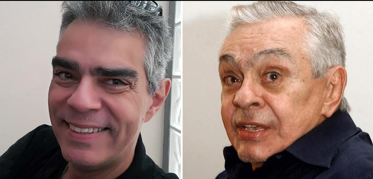 """""""A Globo fodeu com meu pai"""", diz filho de Chico Anysio."""