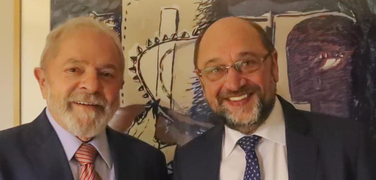 Lula e Martin Schulz