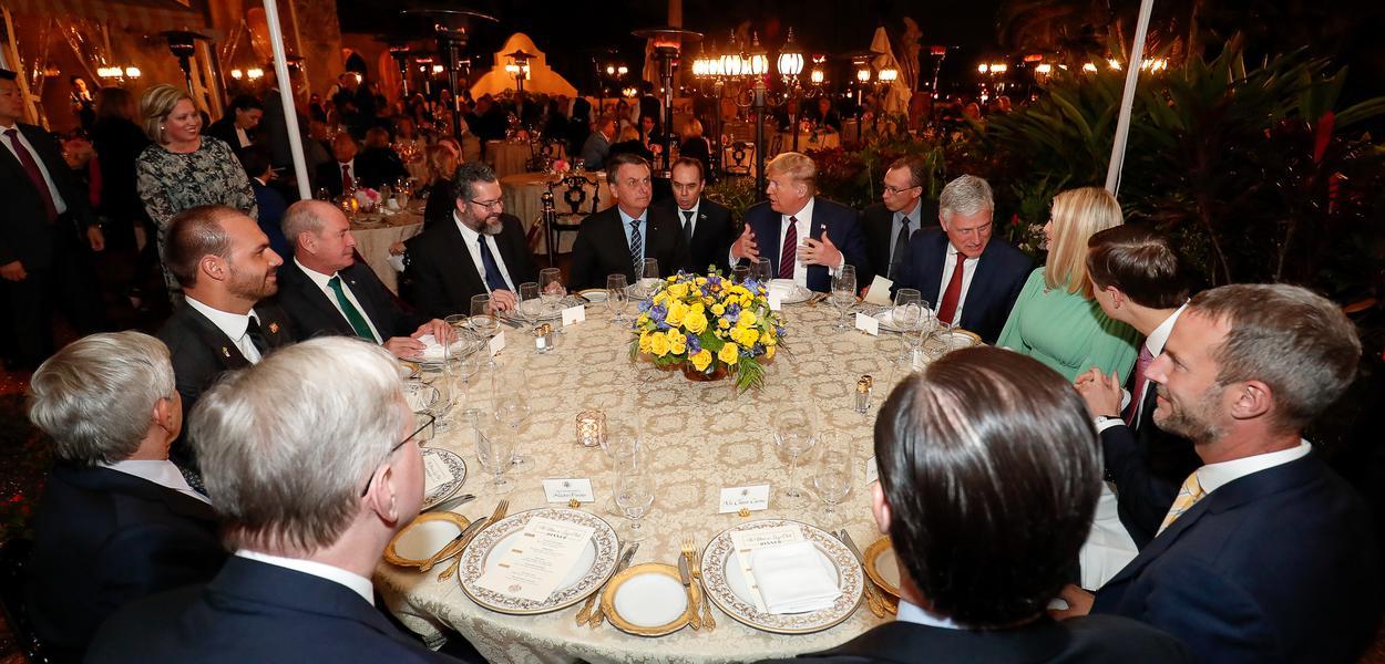 (Mar a Lago - Flórida, 07/03/2020) Presidente da República Jair Bolsonaro durante Jantar oferecido pelo Presidente dos Estados Unidos da América.Foto: Alan Santos/PR