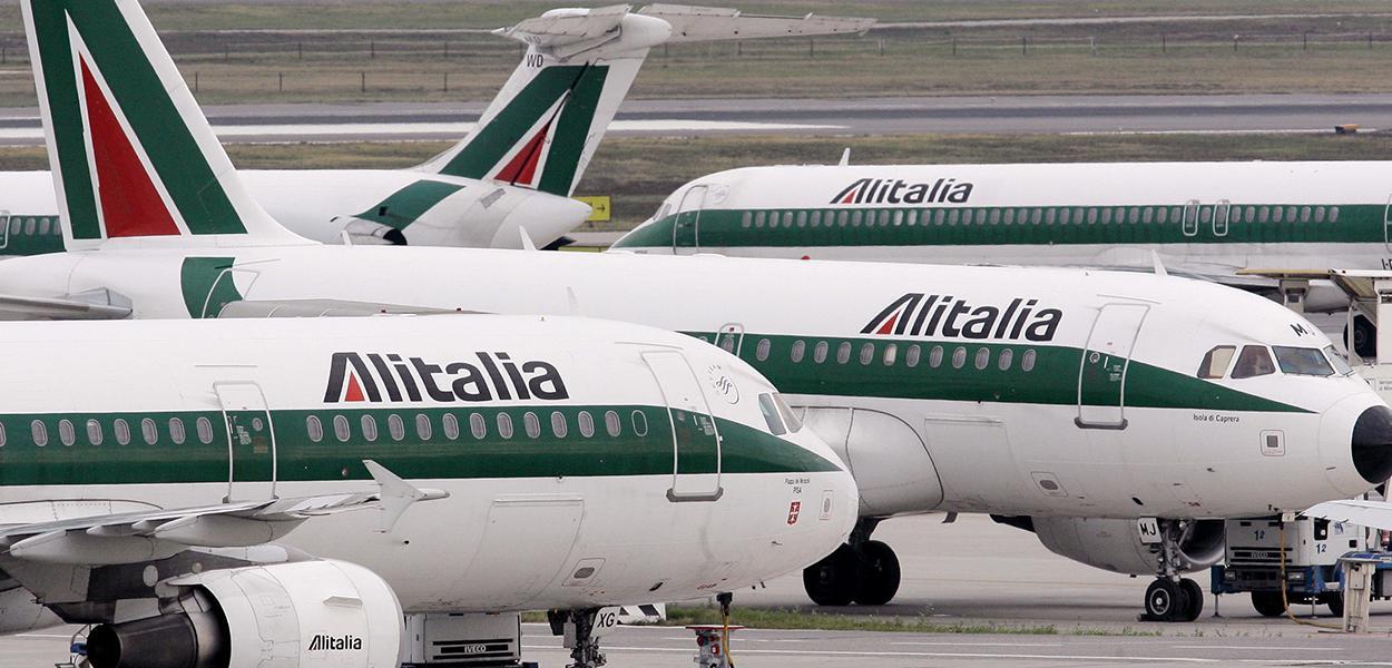 Aviões da Alitalia
