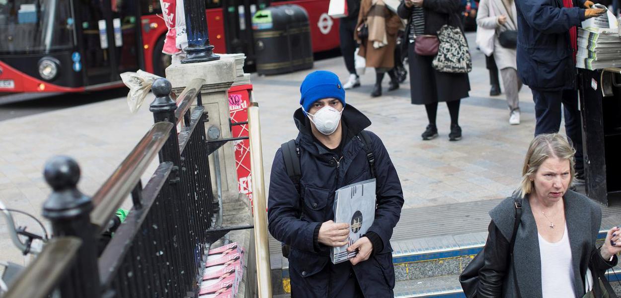 Reino Unido tem o maior número de óbitos desde o início da pandemia na Europa