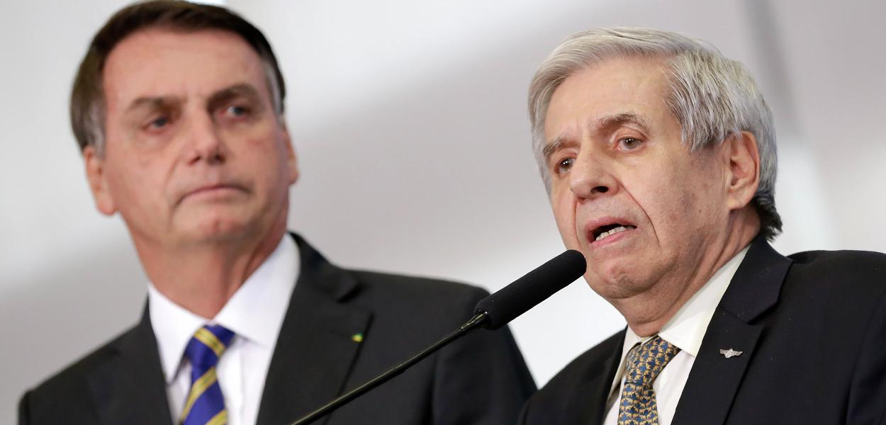 Jair Bolsonaro e General Augusto Heleno