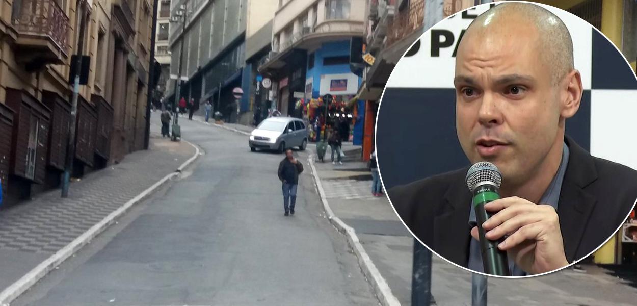 Prefeito Bruno Covas manda fechar comércios em SP