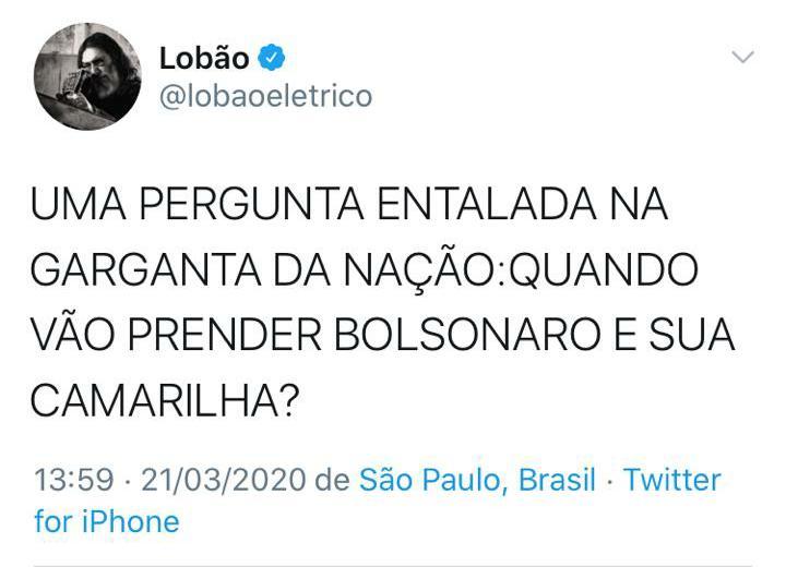 Lobão-Tweet