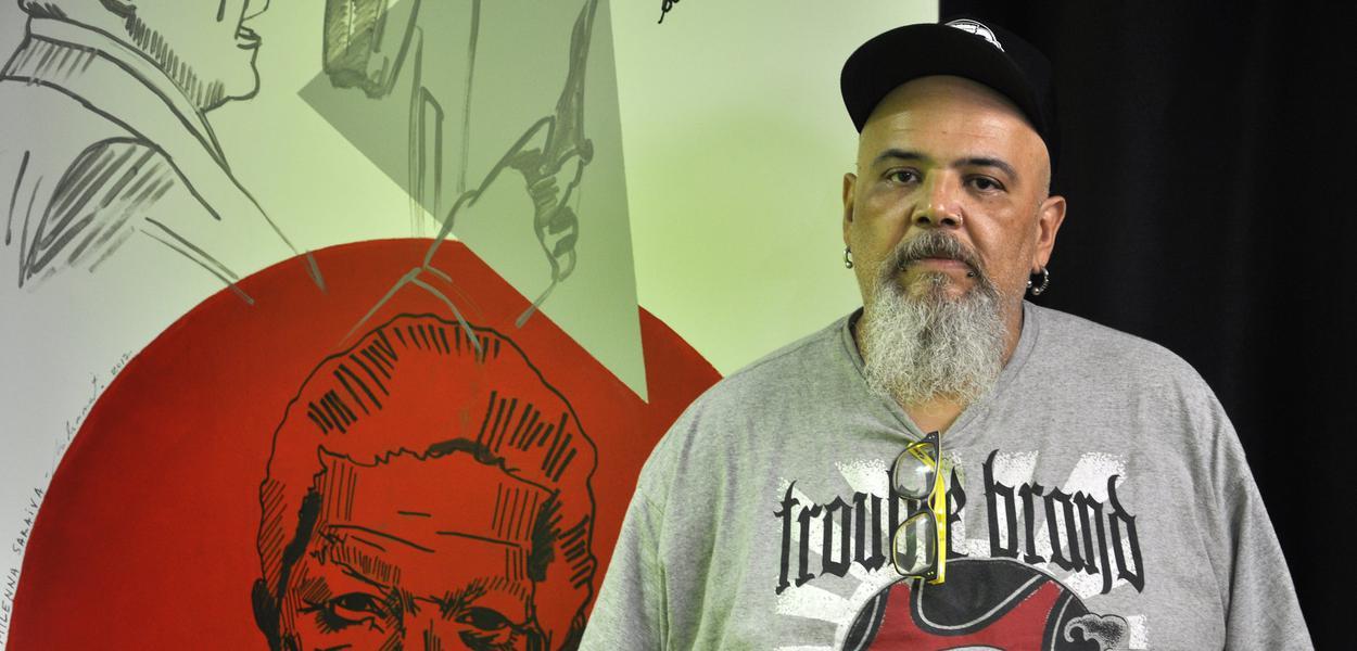 João Gordo, músico e vocalista da banda Ratos de Porão