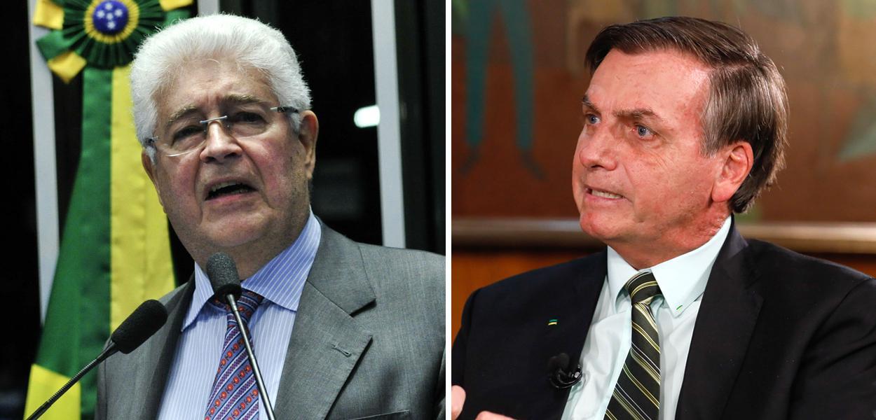"""Requião pede """"interdição psiquiátrica imediata"""" de Jair Bolsonaro por declarações sobre o coronavírus."""
