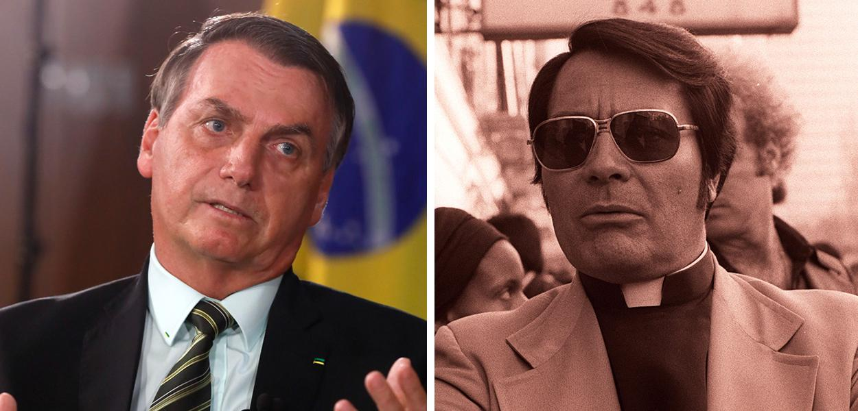 Jair Bolsonaro e Jim Jones