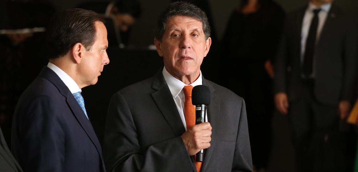 João Doria e David Uip