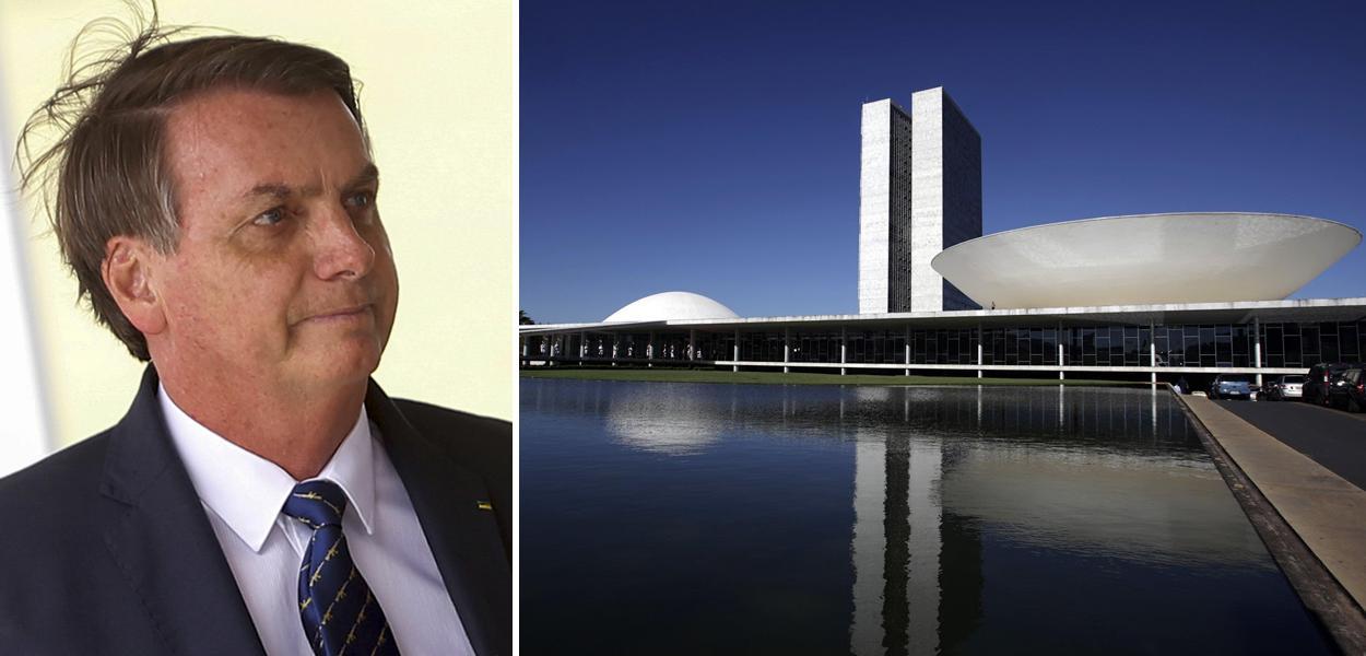 Jair Bolsonaro e Congresso Nacional
